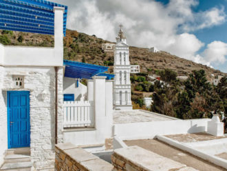 Kardiani village, Tinos, Cyclades, Greece
