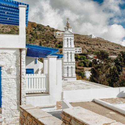 Kardiani village, Tinos, Cyclades, Greece