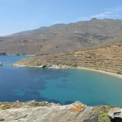 Apigania beach in Tinos