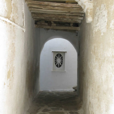 Part of traditional path in Tinos