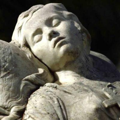 A sculpture by Yannoulis Chalepas