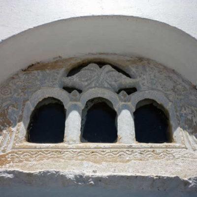 Traditional marble hyperthyron, Tinos